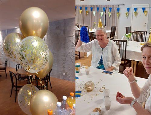 Raamattukoulun kevätjuhlia vietettiin Tukholmassa toukokuun lopussa